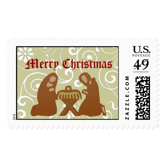 Nativity Stamp