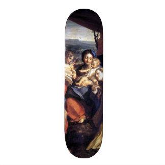 Nativity - The Day - Correggio - Renaissance Skateboard Deck