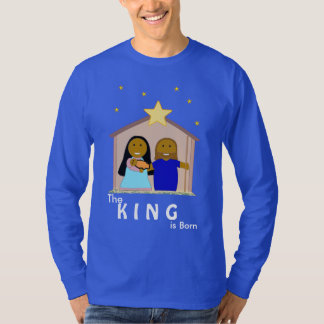 Nativity (the King is born) Men's Long Sleeve Top