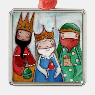 Nativity Three Kings - Premium Ornament