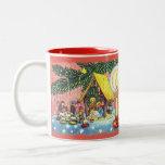 Nativity Under the Christmas Tree Mug