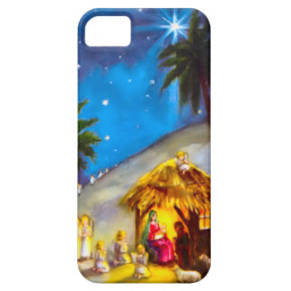Nativity, with angels iPhone SE/5/5s case