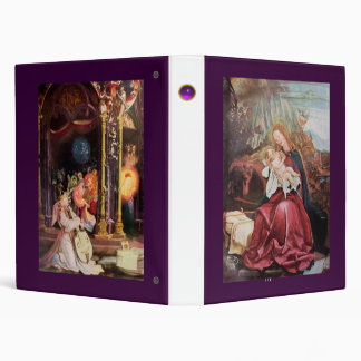 NATIVITY WITH ANGELS _ MAGIC OF CHRISTMAS BINDERS
