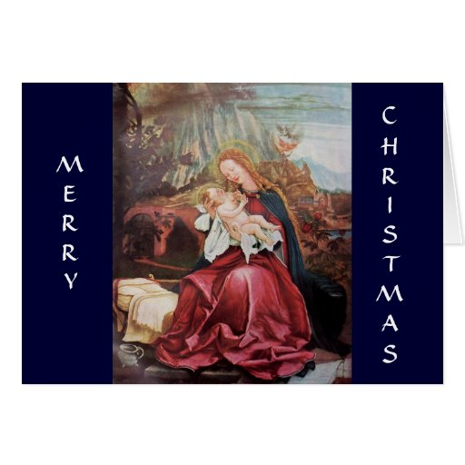 NATIVITY WITH ANGELS - MAGIC OF CHRISTMAS CARDS