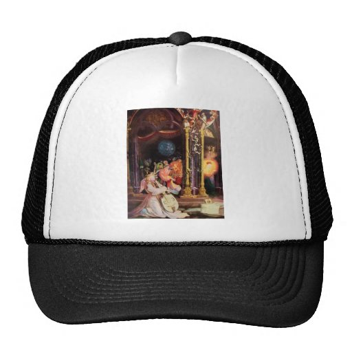 NATIVITY WITH ANGELS - MAGIC OF CHRISTMAS MESH HATS