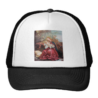NATIVITY WITH ANGELS - MAGIC OF CHRISTMAS TRUCKER HAT