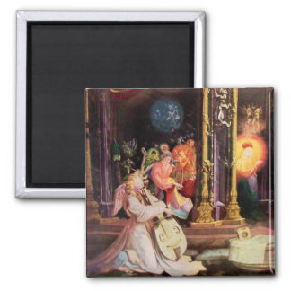 NATIVITY WITH ANGELS - MAGIC OF CHRISTMAS MAGNETS