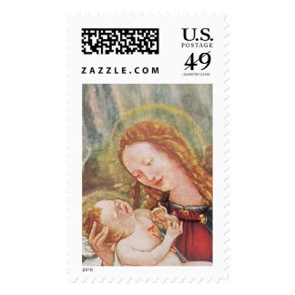 NATIVITY WITH ANGELS - MAGIC OF CHRISTMAS POSTAGE STAMPS
