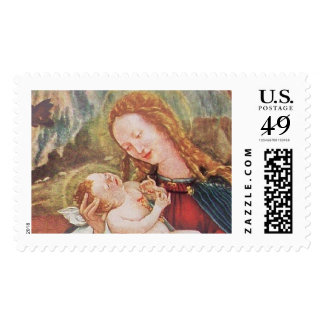 NATIVITY WITH ANGELS - MAGIC OF CHRISTMAS POSTAGE STAMP