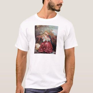 NATIVITY WITH ANGELS - MAGIC OF CHRISTMAS T-Shirt
