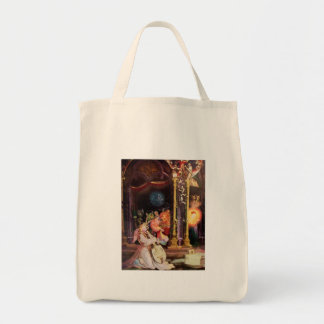 NATIVITY WITH ANGELS - MAGIC OF CHRISTMAS TOTE BAG
