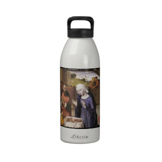 Nativity with Shepherds Reusable Water Bottles