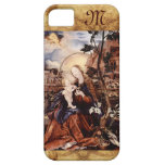 NATIVITY WITH WHITE LILLES - MAGIC OF CHR monogram iPhone 5 Case