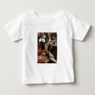 NATIVITY WITH WHITE LILLES - MAGIC OF CHRISTMAS BABY T-Shirt