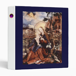 NATIVITY WITH WHITE LILLES - MAGIC OF CHRISTMAS VINYL BINDER