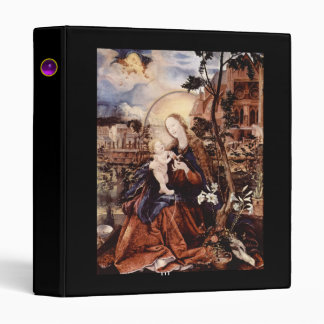 NATIVITY WITH WHITE LILLES - MAGIC OF CHRISTMAS BINDER