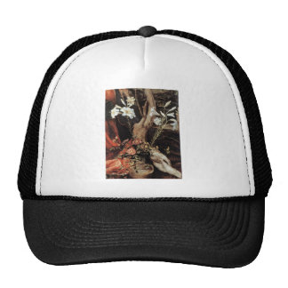 NATIVITY WITH WHITE LILLES - MAGIC OF CHRISTMAS TRUCKER HAT