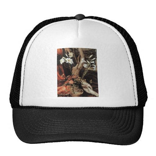NATIVITY WITH WHITE LILLES - MAGIC OF CHRISTMAS MESH HAT