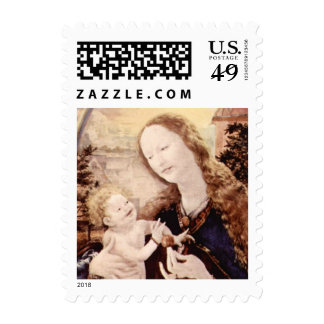 NATIVITY WITH WHITE LILLES - MAGIC OF CHRISTMAS POSTAGE