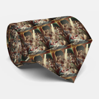 Nativity With Wise Men Neck Tie