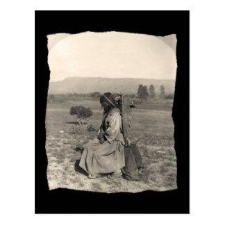 Nativo americano Apache del vintage