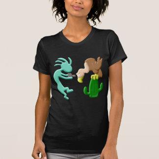 Nativo americano Birdwatcher de Kokopelli Remera