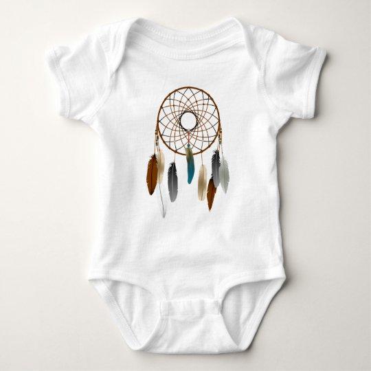 Nativo americano body para bebé