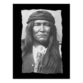 Nativo americano Cochise Apache del vintage Postal