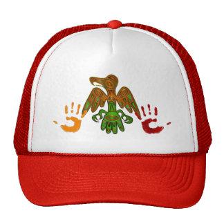 Nativo americano de la impresión inspirado gorras de camionero