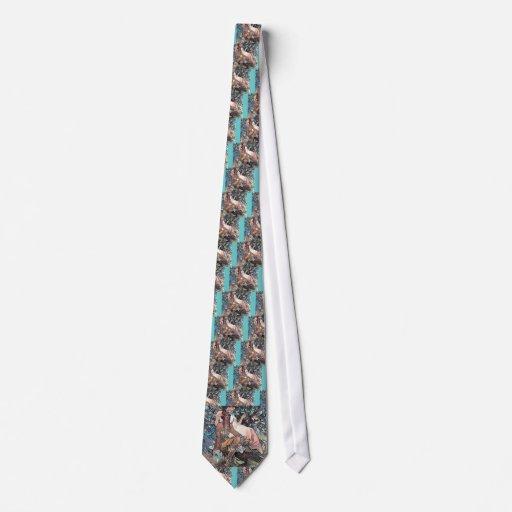 Nativo americano del hombre de la mujer del arte d corbata