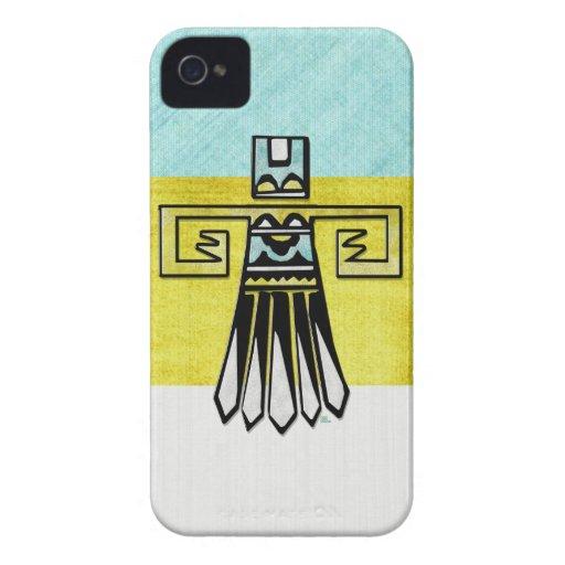 Nativo americano del orgullo del Hopi tribal Case-Mate iPhone 4 Cárcasa