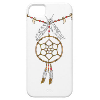 Nativo americano Dreamcatcher iPhone 5 Carcasa
