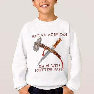 Nativo americano/escocés playera