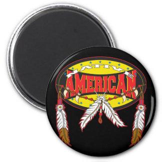 Nativo americano imán para frigorifico