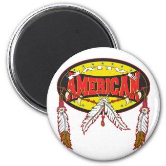 Nativo americano imanes para frigoríficos