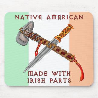 Nativo americano/irlandés tapete de ratón