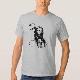 Nativo americano loco del caballo camisas