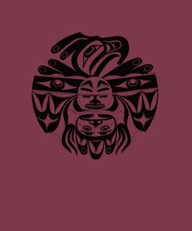 Nativo americano, nativo americano del noroeste playera