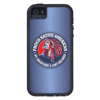 Nativo americano orgulloso 2 iPhone 5 carcasa