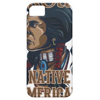 Nativo americano orgulloso iPhone 5 carcasa
