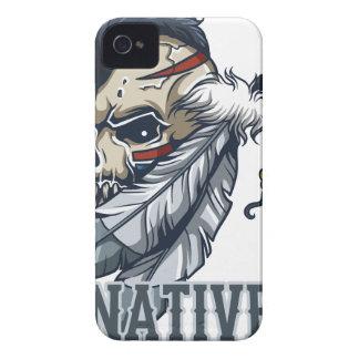 Nativo americano orgulloso iPhone 4 Case-Mate cárcasa