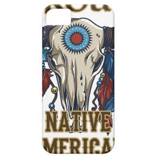 Nativo americano orgulloso iPhone 5 funda