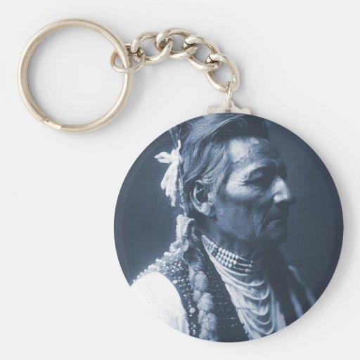 Nativo americano Pio indio Pio-Maksmaks Llavero