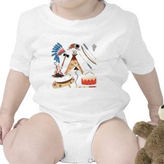 Nativo americano trajes de bebé