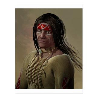 Nativo americano postal