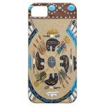 """Nativo americano Sandpainting"" IPhone occidental  iPhone 5 Funda"
