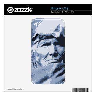 Nativo americano Si indio Wa Wata Wa Calcomanía Para iPhone 4