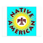 Nativo americano Sun Postal