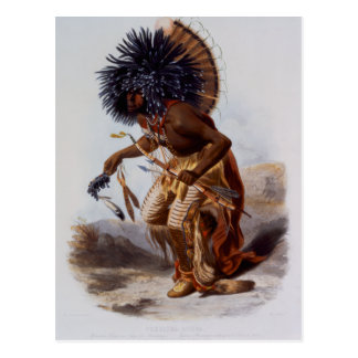 Nativo americano postales