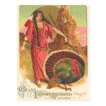 Nativo americano y Turquía Postal